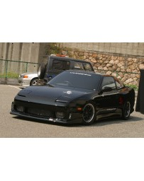 ChargeSpeed 240SX RPS-13 Flip Light Wide Body Kit