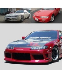 ChargeSpeed Nissan S14 To S15 Front End Conversion Vented FRP
