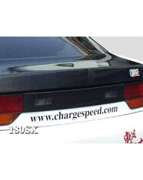 ChargeSpeed 89-92 240SX S-13 HB Carbon Rear Center Garnish