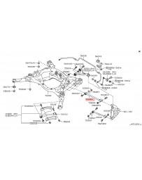 R35 GT-R Nissan OEM Link Complete - Rear Suspension Lower