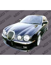VIS Racing 2000-2004 Jaguar S Type 4Dr Invader 2 Side Skirts