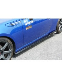 ChargeSpeed 13-20 BR-Z/ FR-S BL T2 FRP Side Skirts