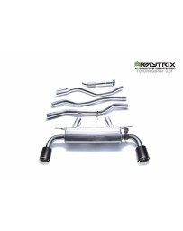 ARMYTRIX Stainless Steel Valvetronic Catback Exhaust System Dual Carbon Tips Toyota Supra 3.0 Turbo A90 MK5 2020+