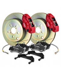 Toyota GT86 Brembo GT Series Slotted 1-Piece Rotor Rear Brake Kit