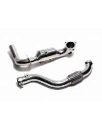 ARMYTRIX Sport Cat-Pipe with 200 CPSI Catalytic Converters and Link Pipe Mercedes-Benz A-Class CLA-Class 2013-2018