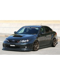 ChargeSpeed 11-14 WRX STi 4D BottomLine Carbon T1 Full Lip Kit