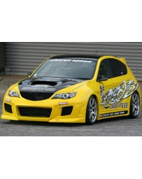 ChargeSpeed 08-14 STi GRB 5Drs HB Super GT Wide Body Kit