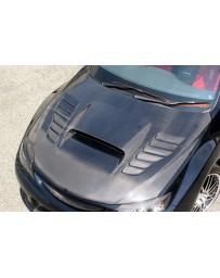 ChargeSpeed 08-14 Impreza WRX STI GR-B GV Vented Hood FRP