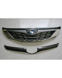 ChargeSpeed Impreza Carbon Front Grill Finisher for OEM Grill