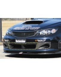 ChargeSpeed 08-10 WRX STi GR-B HB Front Bumper Cowl Carbon
