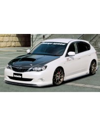ChargeSpeed 08-10 Impreza 5 Drs HB Bottom Line Carbon Lip Kit
