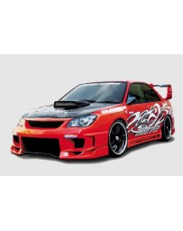 ChargeSpeed Subaru Impreza Type-2 Full Bumper Kit 3D Carbon