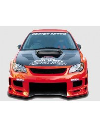 ChargeSpeed Impreza Type-2 Front Bumper With 3-D Carbon Center