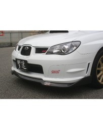 ChargeSpeed Subaru Bottom Lines Front Lip Type-2 for STi FRP