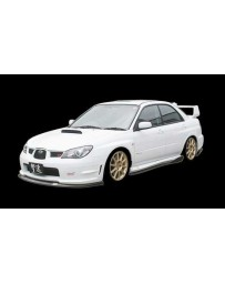 ChargeSpeed Subaru WRX Bottom Line Full Lip Kit Type1 (FRP)