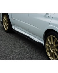 ChargeSpeed Impreza Bottom Line Carbon Side Skirts