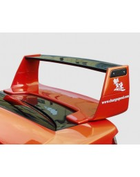 ChargeSpeed 02-03 Subaru WRX Full Wing Straight With CarbonTop