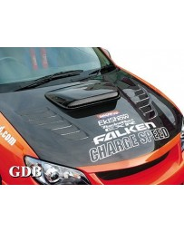 ChargeSpeed 2006-2007 Impreza Vented FRP Hood