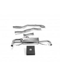 ARMYTRIX Stainless Steel Valvetronic Catback Exhaust System Mercedes-Benz GLC250 GLC300 X253 Euro 6 2019+