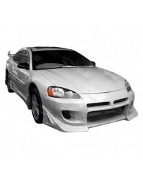 VIS Racing 2001-2002 Chrysler Sebring 2Dr Battle Z Front Bumper