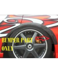 ChargeSpeed 05-07 Subaru WRX FRP Rear O.V.F. Bumper Side