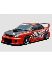 ChargeSpeed Impreza Wide Body Full Kit W/Straight Canter