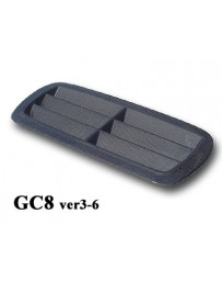 ChargeSpeed Subaru Impreza GC-8 Carbon Outlet Style Hood Duct