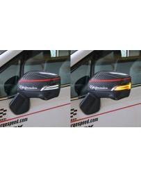 ChargeSpeed JDM Spec Subaru Smoke LED Door Mirror (Pair)