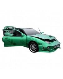 VIS Racing 1995-2002 Pontiac Sun Fire 2Dr/4Dr Invader Front Bumper