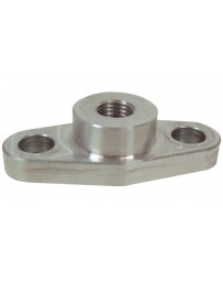 "Vibrant Performance Oil Inlet Flange for Garrett GT3271R and T3, T3/T4 and T4 Turbos (1/8"" NPT Female Thread)"