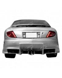 VIS Racing 2003-2005 Pontiac Sun Fire 2Dr Ballistix Rear Bumper