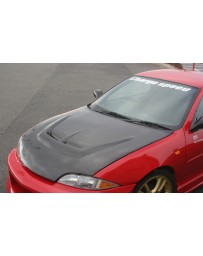 ChargeSpeed 95-02 Cavalier FRP Vented Hood (Japanese FRP)