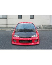 ChargeSpeed 95-99 Cavalier Front Bumper (Japanese FRP)