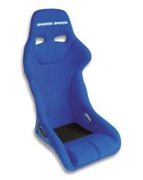 ChargeSpeed Bucket Racing Seat Genoa Type FRP Blue