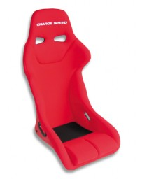 ChargeSpeed Bucket Racing Seat Genoa Type FRP Red