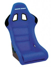 ChargeSpeed Bucket Racing Seat Shark Type Carbon Blue