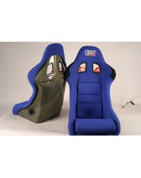 ChargeSpeed Bucket Racing Seat Shark Type Kevlar Blue OG