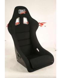 ChargeSpeed Bucket Racing Seat Shark Type Kevlar Black OG