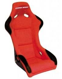 ChargeSpeed Bucket Racing Seat Sport Type Carbon Red