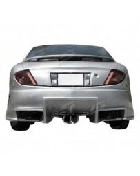 VIS Racing 1995-2002 Pontiac Sun Fire 2Dr/4Dr Ballistix Rear Bumper