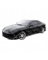 VIS Racing 1995-2005 Pontiac Sun Fire 2Dr Battle Z Side Skirt