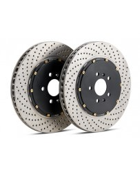 Focus ST 2013+ StopTech 2-Piece Drilled Aero-Rotor Kit