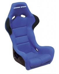 ChargeSpeed Bucket Racing Seat Spiritz SR Type Carbon Blue