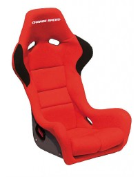 ChargeSpeed Bucket Racing Seat Spiritz SR Type Kevlar Red