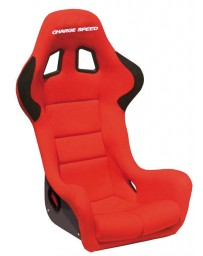 ChargeSpeed Bucket Racing Seat Spiritz SS Type Carbon Red
