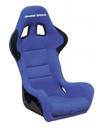 ChargeSpeed Bucket Racing Seat Spiritz SS Type Kevlar Blue