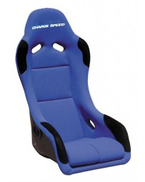 ChargeSpeed Bucket Racing Seat EVO X Type Kevlar Blue