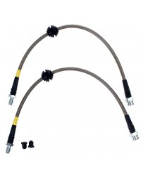 Focus ST 2013+ StopTech Brake Hose Stainless Steel Braided Rear Pair