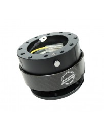 NRG Quick Release Gen 2.0 - Black Body / Black Carbon Fiber Ring