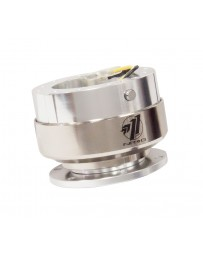 NRG Quick Release Gen 2.0 - Silver Shiny Body / Brushed Silver Ring